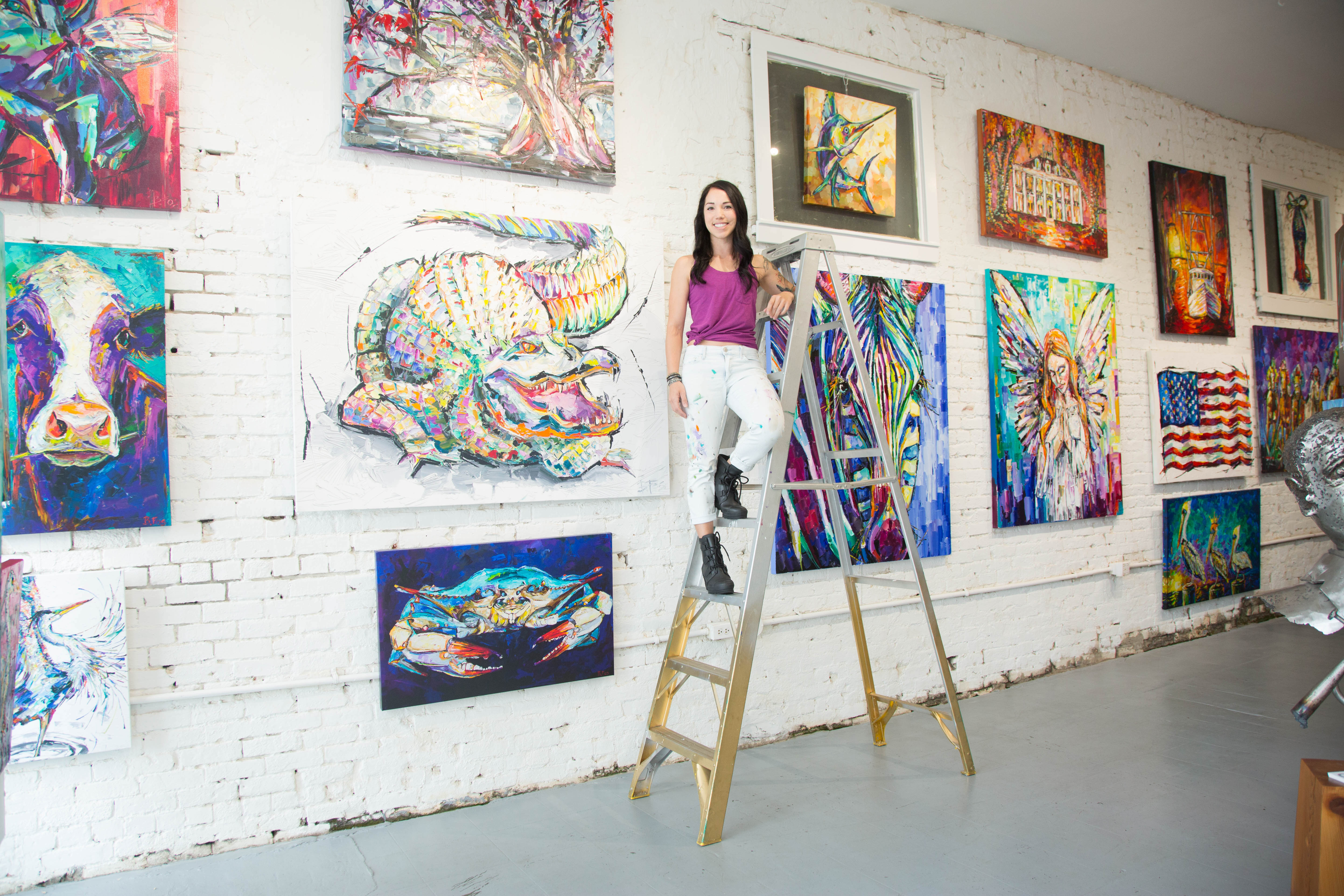 The Accidental Artist: Cover Artist Becky Fos